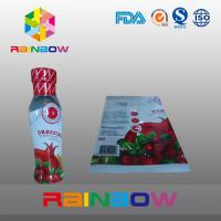 Quality Printed High Shrinkage PVC / PET Hot Shrinking Labels / Heat Shrinking Sleeve Labels for sale