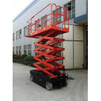Buy ASE0810 Pure Electric Outdoor Scissor Lift 8000mm Max Platform Height Heavy Duty at wholesale prices