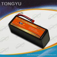 Quality Light weight UAV 6S 30C Rechargeable RC Battery Pack 22.2V 8000mAh for sale