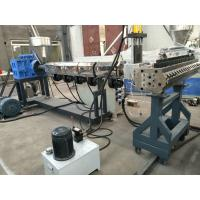 Buy cheap WPC Crust Foam Board Extruder With Double Screw / Siemens Motor from wholesalers