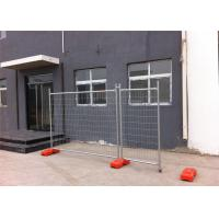 Quality Hot Dipped Galvanized Temporary Fencing Panels 32mm tube wall thick 2.00mm inside and outside zinc coated for sale