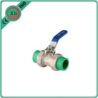 Quality High Pressure PPR Ball Valve Brass Drain Cock 20 Mm - 63 Mm Welding Connection for sale