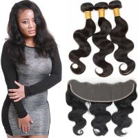 Authentic Virgin Brazilian Hair Extensions , Brazilian Remy Virgin Hair Weave