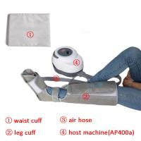 Quality Non - Woven Air Compression Leg Massager For Foot Calf And Thigh Circulation for sale
