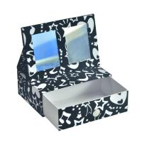 Quality Customized Paper Type Paperboard Packaging Box Cosmetic Box With Drawer And Mirror for sale