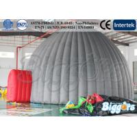 Buy cheap PVC Grey Inflatable Outdoor Tent , Dome Structure Camping Gaint Building from wholesalers