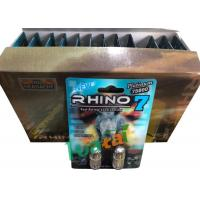 Quality 3D Material Rhino7 Double Herbal Men Sex Pills For Long Lasting Erections for sale