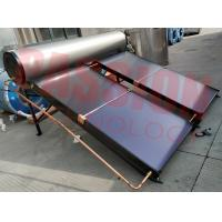 Quality 100L 200L 300L Flat Plate Solar Water Heater Rooftop Collector for sale