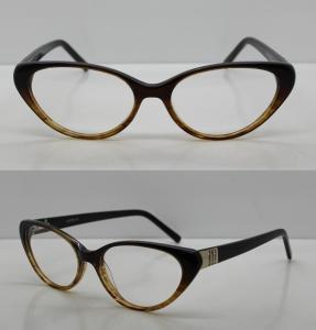 Quality Vintage Hand Made Acetate Eyeglasses Frames For Ladies / Men, 48-18-140mm for sale