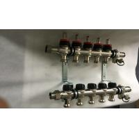 Quality House  Stainless Steel Water Manifold Sliver Color 5 Loop Radiant for sale