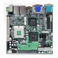 Quality Industrial Motherboard in Mini-ITX Form Factor with Intel GM45/ ICH9M for sale