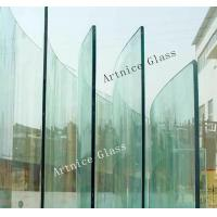 3mm to 19mm Bending tempered glass, bending toughened glass with ISO, CE ,