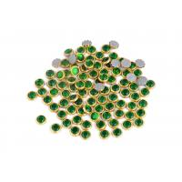 Quality Home Decoration / Nail Art Rimmed Rhinestones Environmentally Friendly for sale