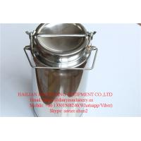 Quality SS304 Milk Cans , 20L Milk Bucket For Milk Transportation and Storage for sale
