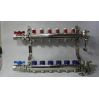 Quality Radiant Floor Manifold For Underfloor Heating 304 Stainless Steel for sale