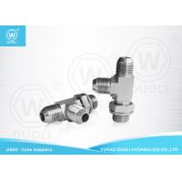 Quality JIS Male Thread Hydraulic Hose Tee Fittings / Flared Tube Fittings Customized OEM for sale