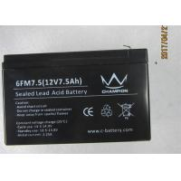 Quality Good discharge current 12v7.5ah long life lead acid battery UPS and inverter use for sale