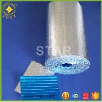Quality Aluminum foil bubble heat insulation with woven cloth / Reinforced Heat Insulation Material for sale