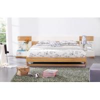 Buy Modern bedroom furniture by MDF in glossy painting melamine board in bed at wholesale prices