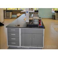 China 304 SUS Steel Dental Laboratory Bench School Science Furniture Movable Structure on sale
