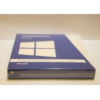Quality 32 / 64 Bit Win 8.1 Pro Pack Retail Box , Windows 8.1 Product Key Code for sale