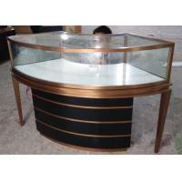 Quality Showcases For Jewelry -  OEM Service For Brush Stainless Steel Jewelry Showcase for sale