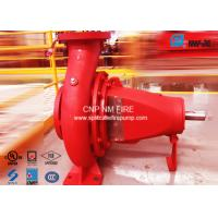Quality NFPA-20 Centrifugal End Suction Fire Pump One Stage For Oil Terminals for sale