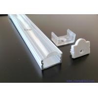 Buy Mounting Channel Alu Micro Led Flexible Strip Light Profiles Led Bar Aluminium Housing With Clear Lens Cover at wholesale prices