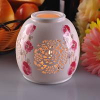 Quality Personalised Ceramic Candle Holder Handmade Heat Resistant ASTM Test for sale