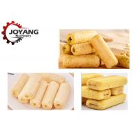 Quality Full Automatic Puffed Corn Snack Making Machine Jam Center Core Filling Snacks Production for sale