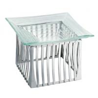 Buy cheap SCC B-102 Square Stainless Steel Display Stand with Glass Platter from wholesalers