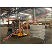 Quality Metal Trapezoidal Profile Bull-nosing IBR Roof Sheeting Crimping Machine for sale