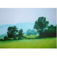 Quality landscape painting lake design wall art for sale