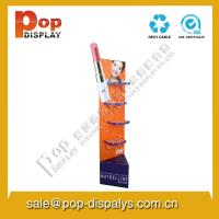 Quality Floor Display Racks  , Cardboard Floor Display Stands For Advertising for sale