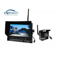 Quality Wireless Rearview TFT Car Monitor , 12V Wireless Camera Kit For Dashboard for sale