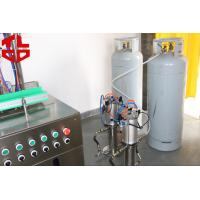 Quality Automatic Aerosol Spray Filling Machine For Wedding Snow Sprays for sale