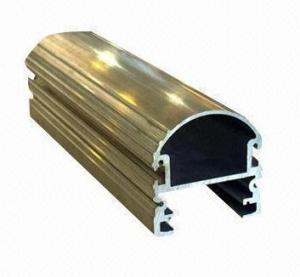 Quality Steel Polished 6061 Aluminum Profile for sale
