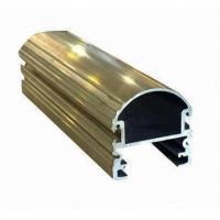 Quality Steel Polished Structural 6061 Aluminum Profile , Wood Grain Coated Extrusion Aluminum Profiles for sale