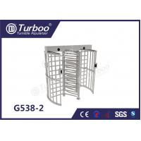 Quality Fingerprint Scanner Full Height Turnstile Gate G538-2 OEM Service Turnstile Motor for sale