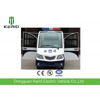 Quality 8 Seats Enclosed Electric Pick Up Car With Alarm Lamp  For City Walking Street for sale