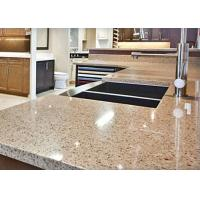 Quality Giallo Alba Natural Stone Vanity Countertops for Kitchen Cabinet for sale