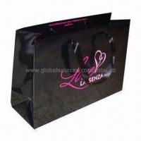 Quality Paper promotional shopping bag, OEM orders are welcome for sale