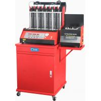 Buy cheap Automatic 8cylinders Automatic Car Fuel Injector Tester Wash Machine from wholesalers