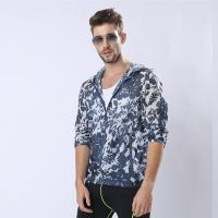 Quality Custom New Version Man Sunproof Chinlon Skin Clothes for sale