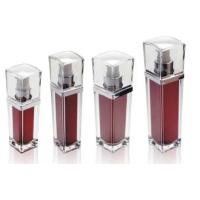Quality square 15ml 30ml 50ml 100ml essence cosmetic acrylic bottle packaging for sale