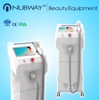 Quality Medical 808nm diode laser hair removal machine With Dias Laser Bar 600w output for sale