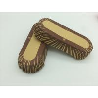 Quality Oilproof Boat Shaped Paper Baking Cups Brown Cupcake Wrappers Muffin Eco Friendly for sale