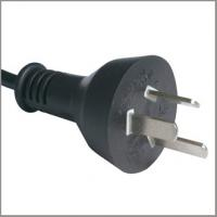 Quality Argentina mains cord, IRAM approved AC power cord plug for sale