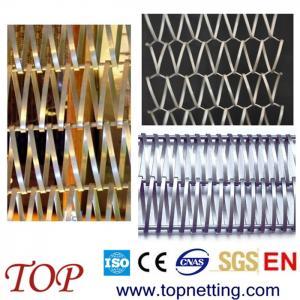 Quality SS316 decorative mesh belt /roller shutter for sale