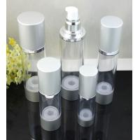 Quality empty 15ml 30ml 50ml  100ml aluminum  cosmetic airless bottle for sale